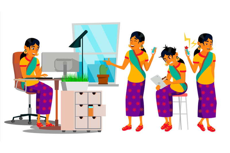 business-man-character-vector-working-hindu-male-it-startup-business-company-environment-process-developer-full-length-programmer-manager-software-flat-cartoon-business-character-illustration