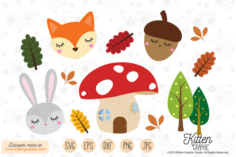 woodland-creatures-graphics