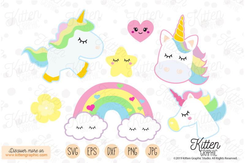 unicorns-set-graphics