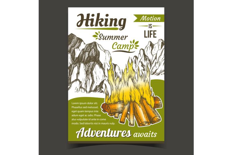hiking-summer-camp-sport-adventures-poster-vector