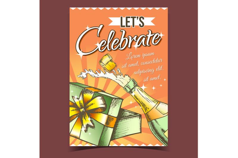 celebrate-anniversary-advertising-poster-vector