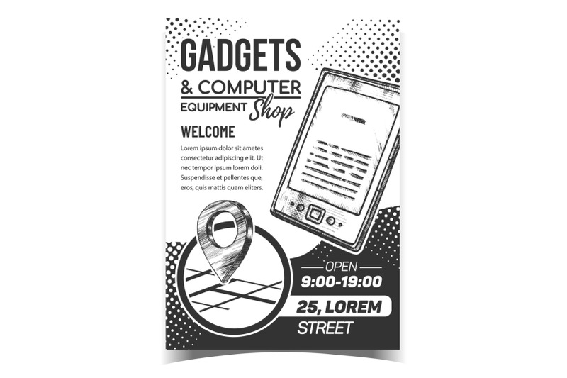 gadgets-and-computer-shop-advertise-poster-vector