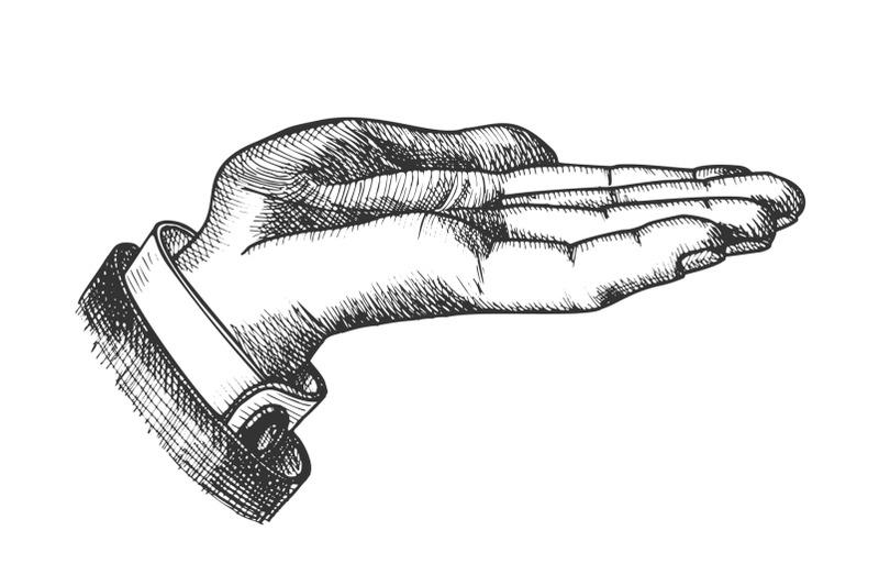 businessman-left-hand-make-gesture-vintage-vector