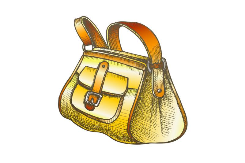 fashion-stylish-hand-luggage-bag-color-vector