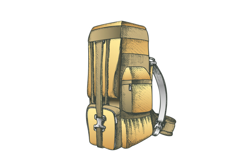 tourist-travel-backpack-luggage-color-vector