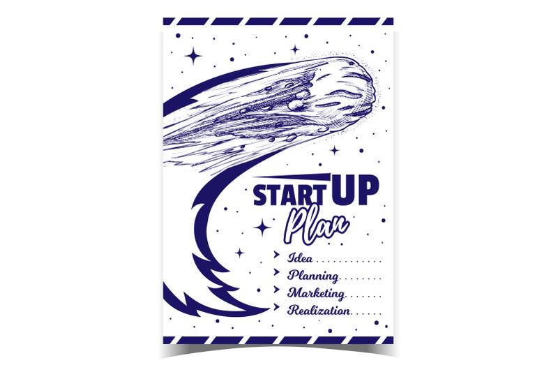 startup-plan-business-advertising-banner-vector