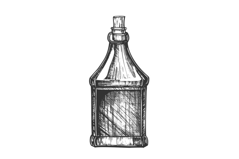 drawn-blank-bottle-of-scotch-with-cork-cap-vector