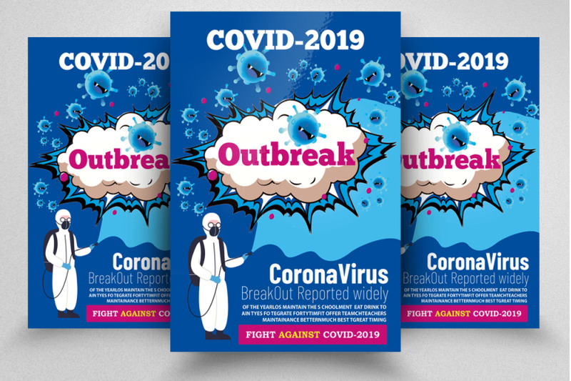 covid-2019-outbreak-flyer-poster