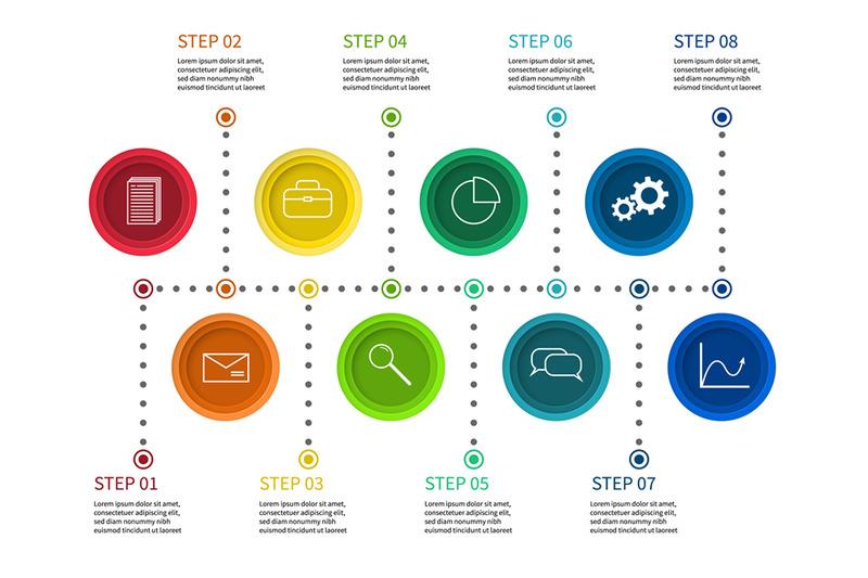 step-chart-info-process-diagram-timeline-with-milestones-workflow-p
