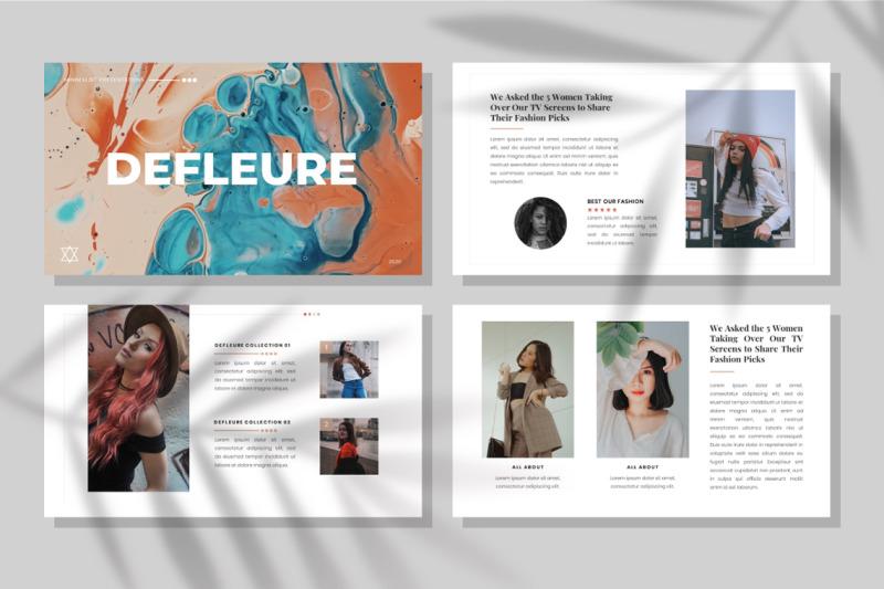 defleure-minimalist-keynote-template