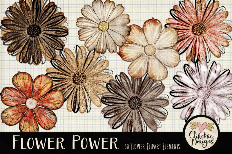 flower-clipart-elements
