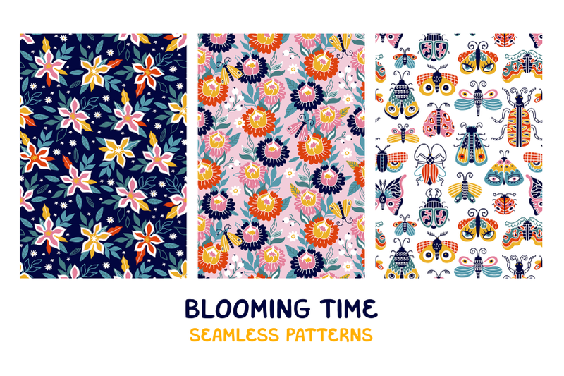 blooming-time