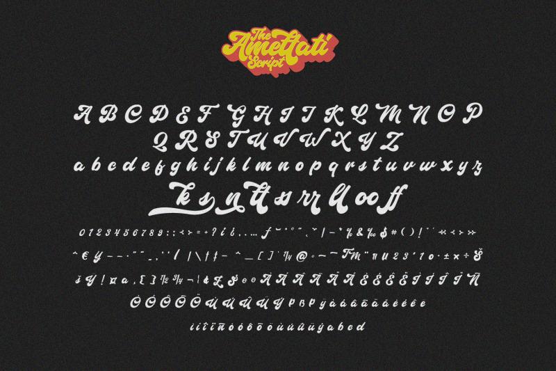 amettati-script-retro-font