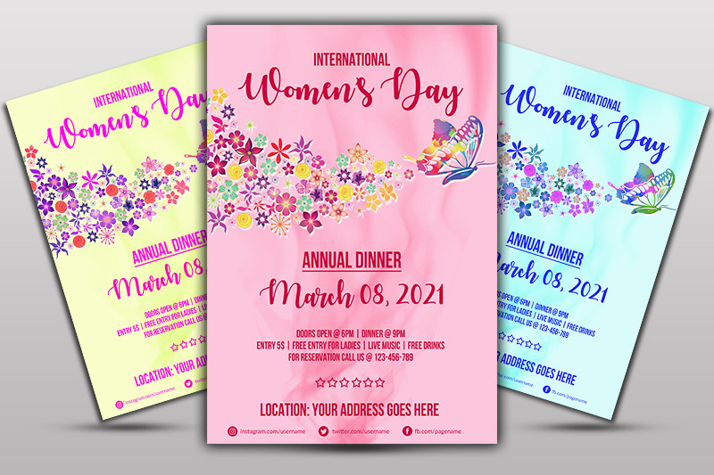 women-039-s-day-flyer