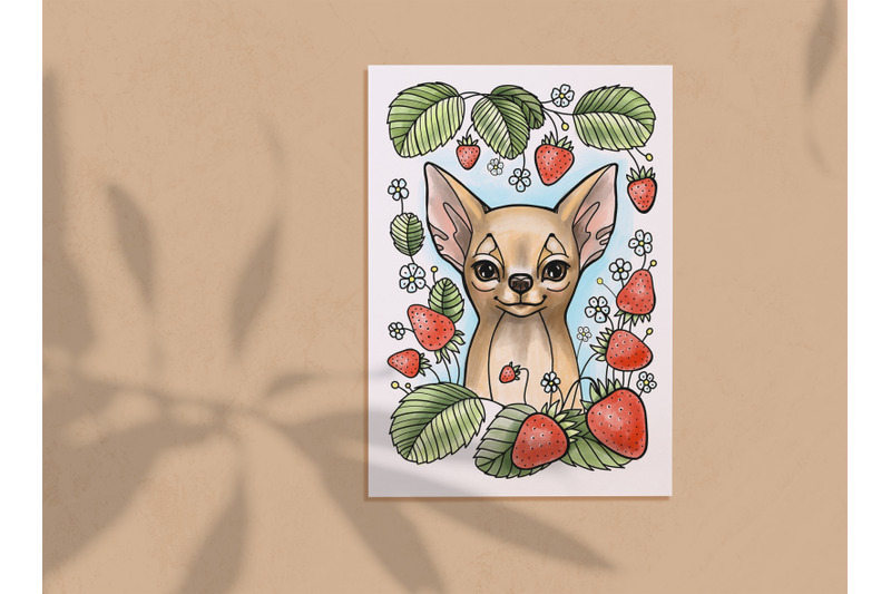 chihuahua-cute-dog-coloring-page