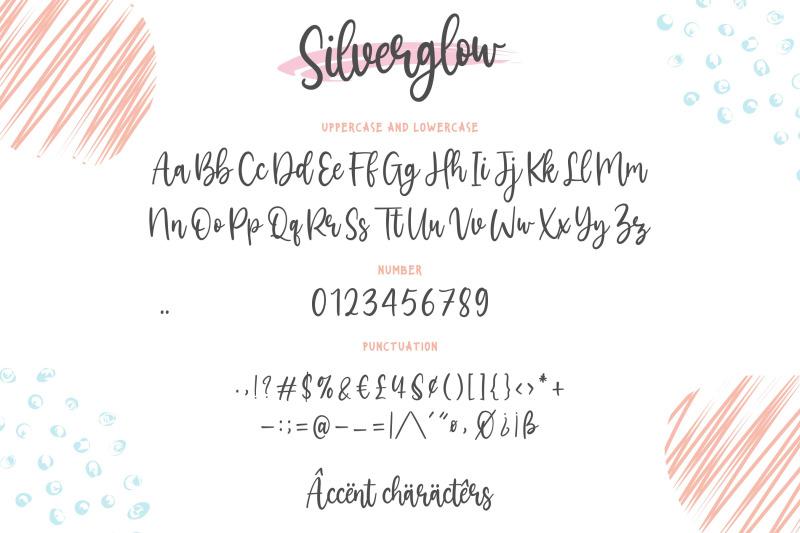 silverglow-playful-modern-calligraphy-font