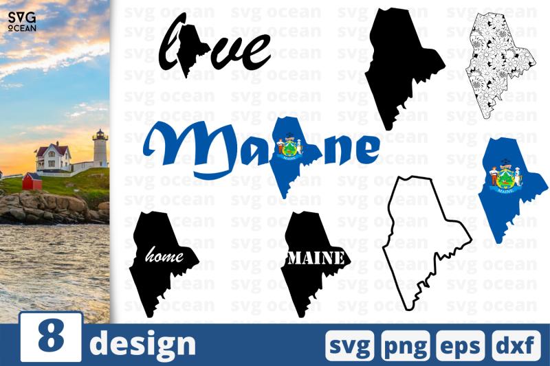 8-maine-svg-bundle-nbsp-map-cricut-svg