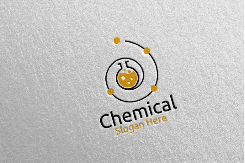 chemical-science-and-research-lab-logo-design-81