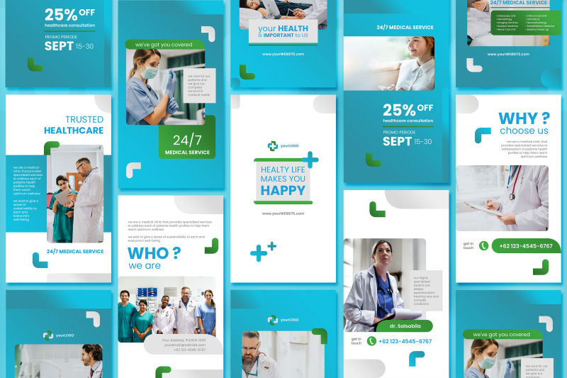 medical-social-media-story-template-with-blue-color-theme