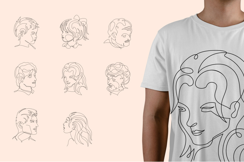 single-line-graphic-collection