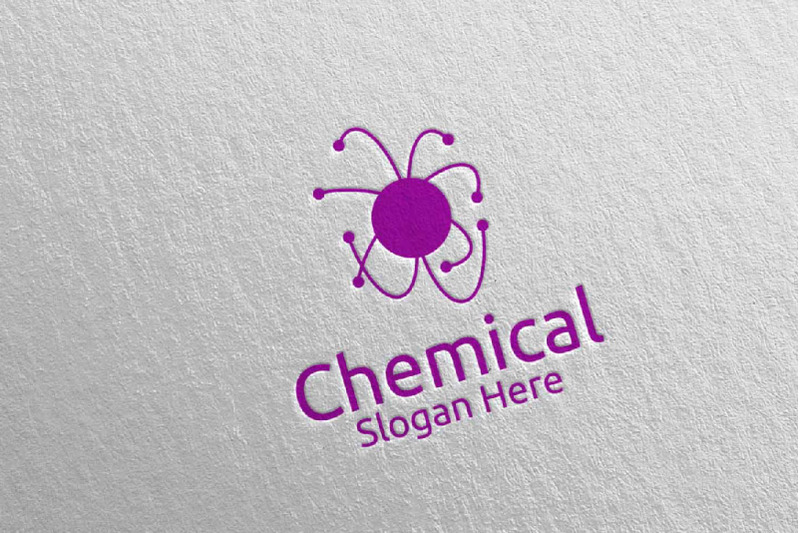 chemical-science-and-research-lab-logo-design-93