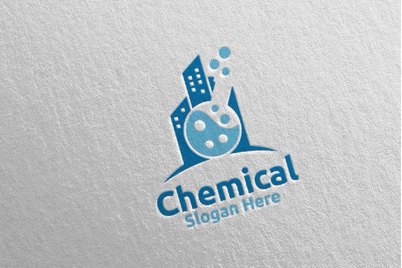 city-chemical-science-and-research-lab-logo-design-98
