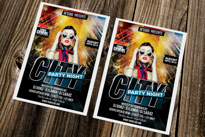 city-party-night-flyer