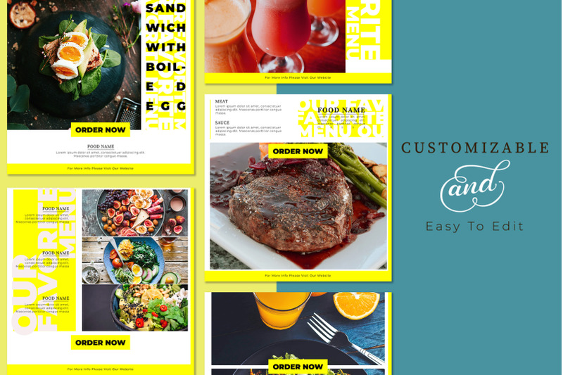 foodies-social-media-template