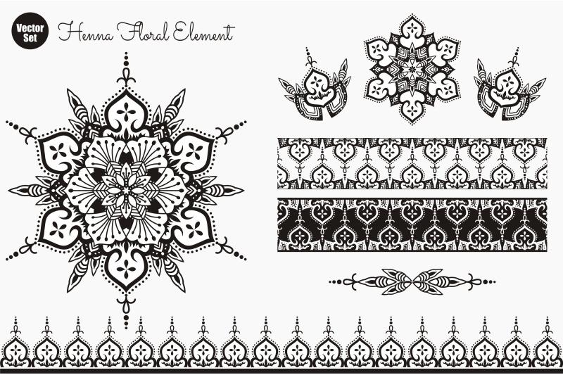 flower-mandala-vintage-decorative-elements-oriental-pattern-vector