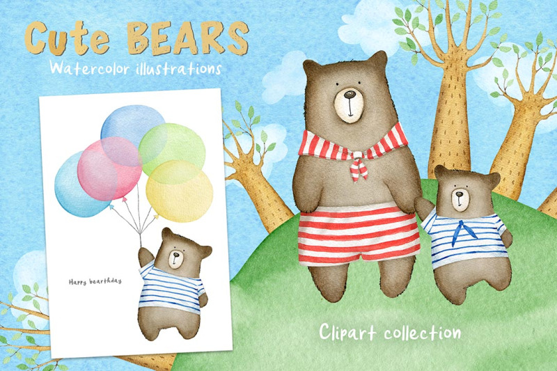 cute-bears-watercolor-set-1-only