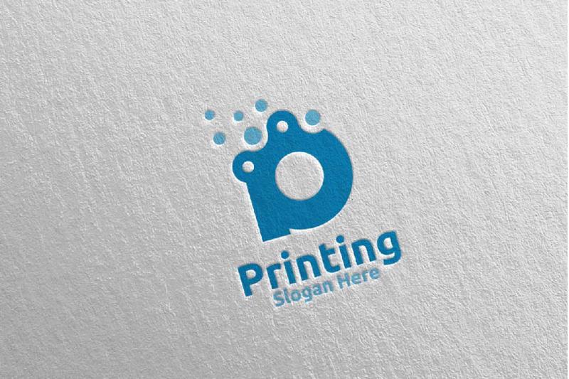letter-p-printing-company-logo-design-4