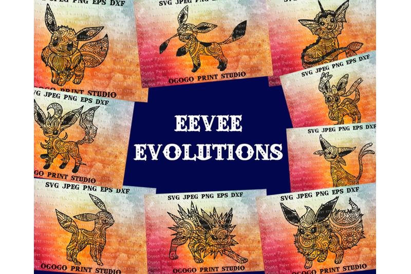 eevee-evolutions-svg-bundle-13-mandala-svg-zentangle-svg-paper-cutt