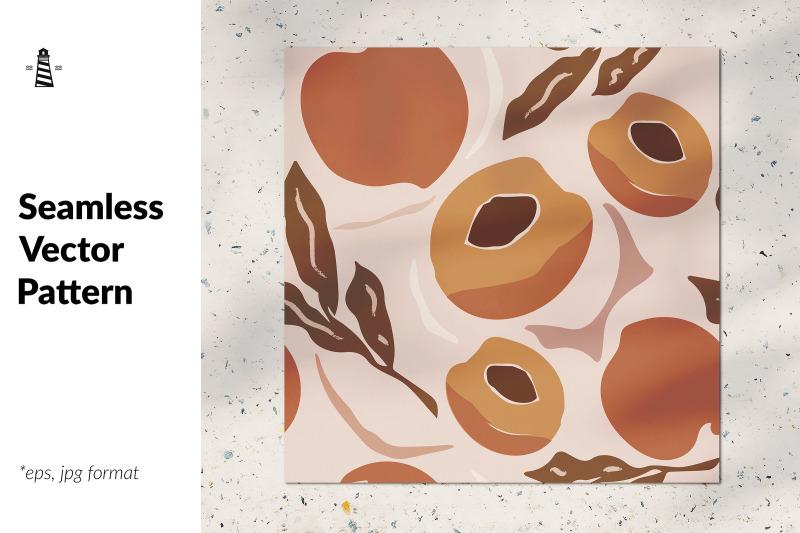 peach-seamless-pattern