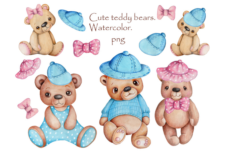teddy-bears-elements-of-clothes