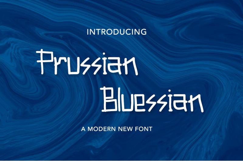 prussian-bluessian