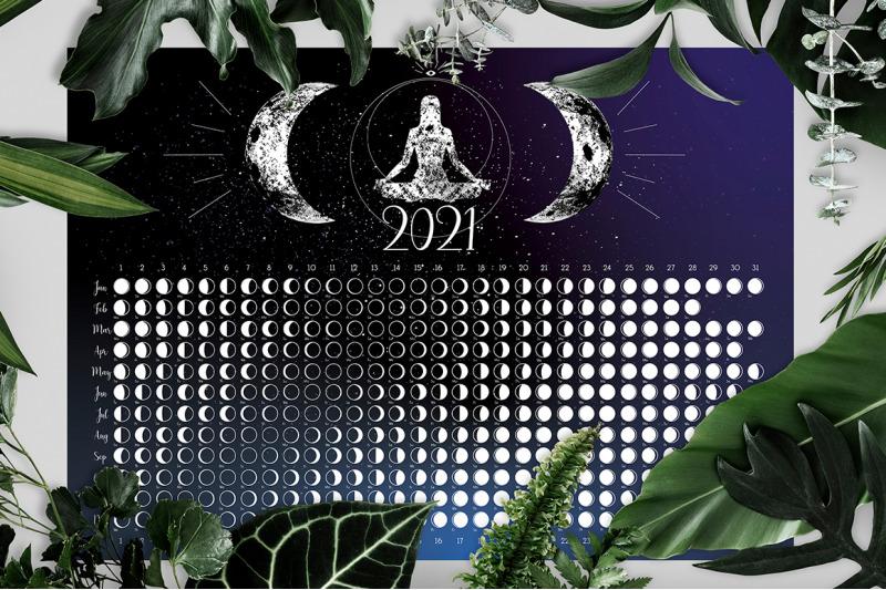 la-luna-moon-calendar-2021