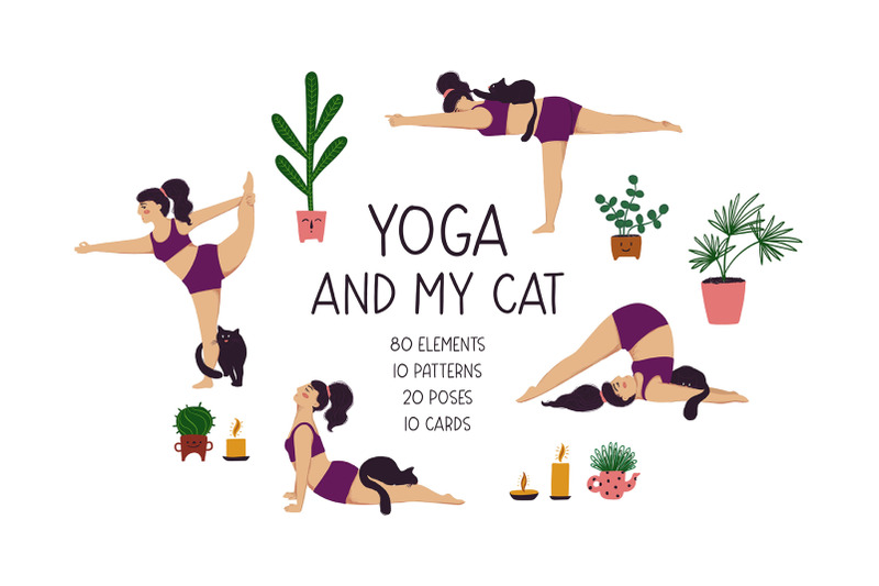 yoga-and-my-cat