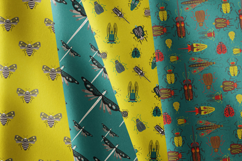 folk-art-insects