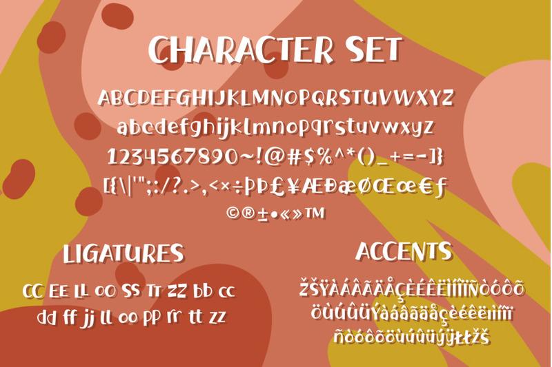 bragley-font-extras