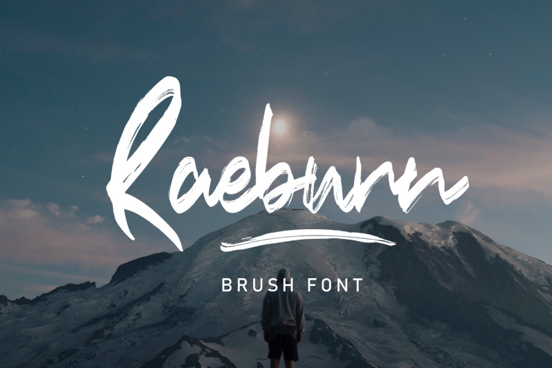 raebrush-handwritten-font