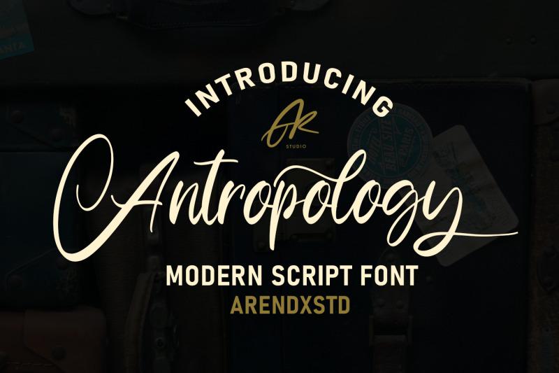 anthropology-font
