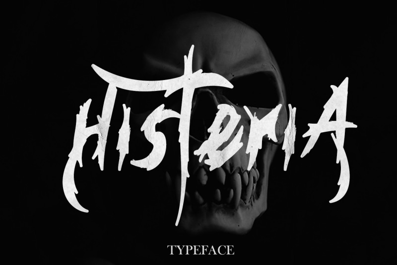 hysteria-typeface