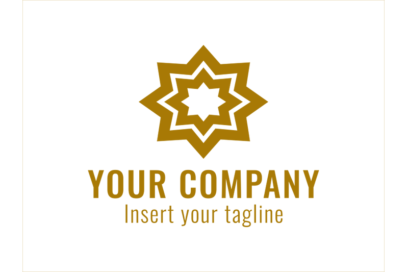 logo-gold-vector-ornament-own-star