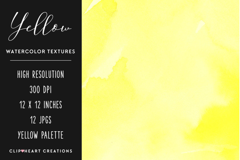 yellow-watercolor-papers