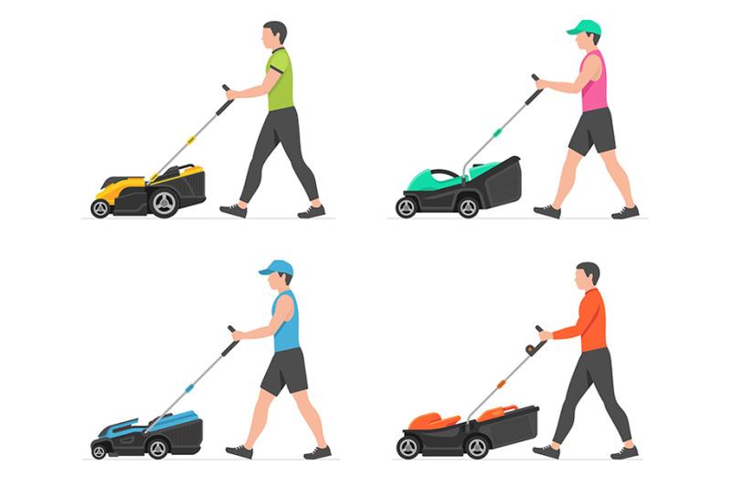 man-mowing-lawn