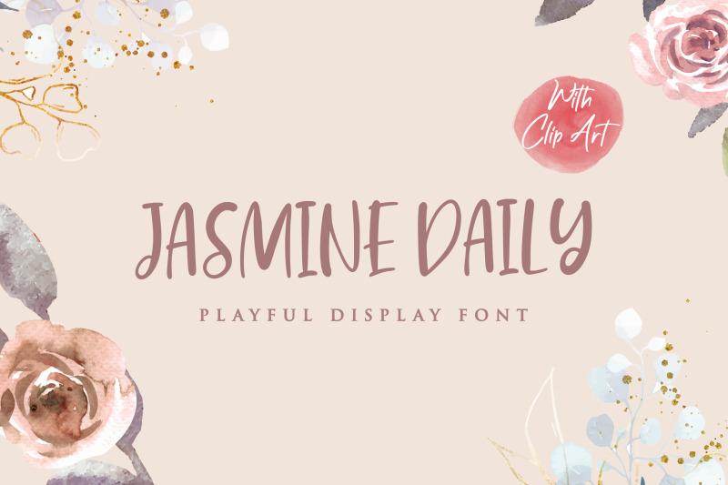 jasmine-daily-playful-display-font