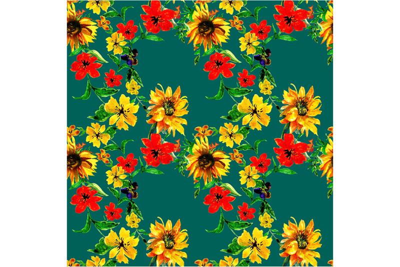 seamless-flowers-pattern