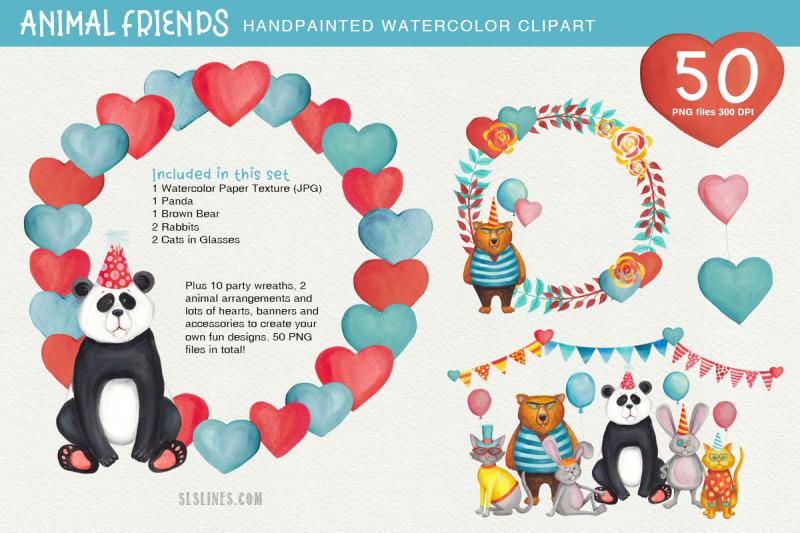 animal-friends-party-amp-celebration-clipart