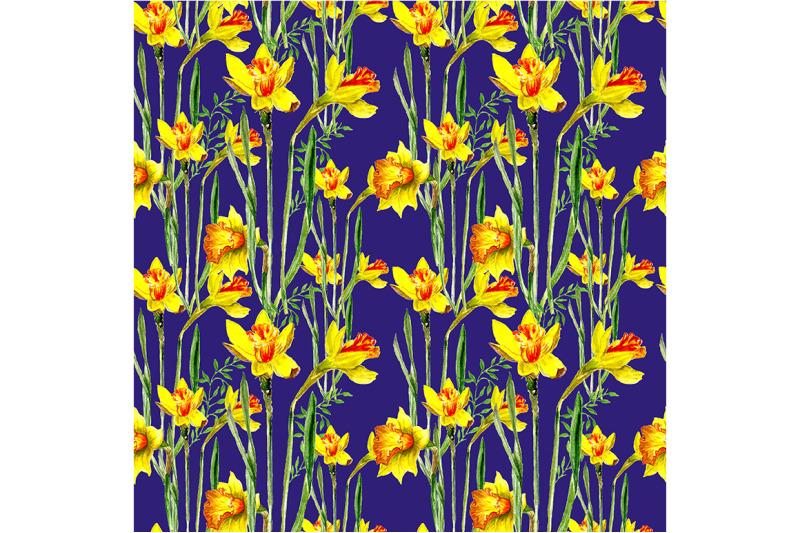 seamless-spring-pattern