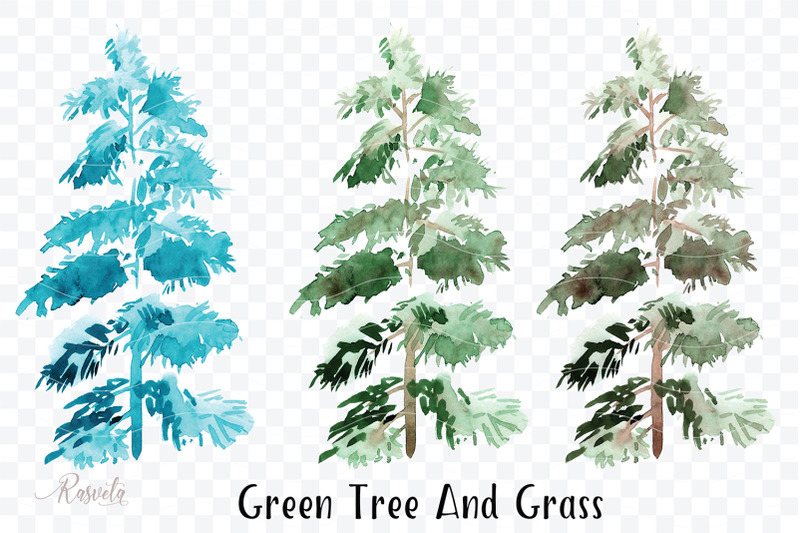 green-tree-and-grass-clipar
